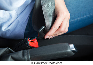 αυτοκίνητο , πάνω , κάθισμα , πρόσωπο , στερέωση , κλείνω , ζώνη