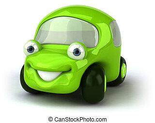 αυτοκίνητο , πράσινο