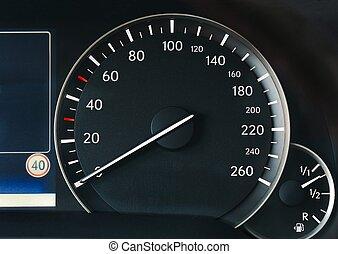 αυτοκίνητο , ταχύμετρο
