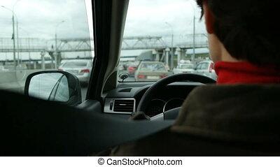 αυτοκίνητο , drivin, πόλη