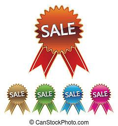 αυτοκόλλητη ετικέτα , πώληση , εικόνα