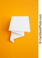 αυτοκόλλητη ετικέτα , χαρτί