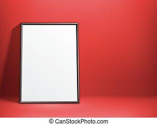 αφίσα , άσπρο , φόρμα , κενό