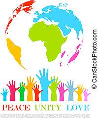αφίσα , ενότητα