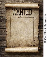 αφίσα , καταζητούμενος , αμοιβή