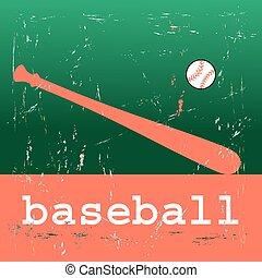 αφίσα , μπέηζμπολ