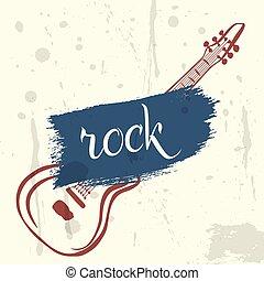 αφίσα , ρυθμός , grunge , βράχοs