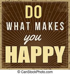 αφίσα , τι , γυμνασμένος , εσείs , ευτυχισμένος