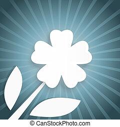 αφαιρώ , ακτίνα , λουλούδι , φόντο , άσπρο