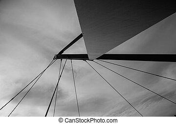αφαιρώ , γέφυρα , σε , aveiro, πορτογαλία