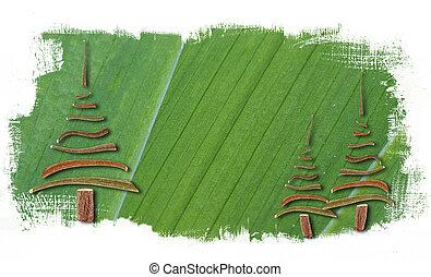 αφαιρώ , δέντρα , βάφω , αγίνωτος φόντο , xριστούγεννα