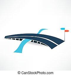 αφαιρώ , δρόμοs , γέφυρα , εικόνα