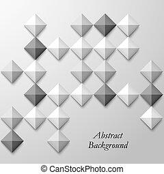 αφαιρώ , μαύρο , άσπρο , τετράγωνο , φόντο