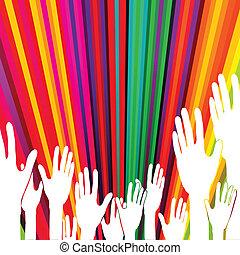 αφαιρώ , μικροβιοφορέας , hands., ψηφοφορία