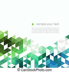 αφαιρώ , τεχνολογία , φόντο , με , χρώμα , τρίγωνο , αναπτύσσομαι