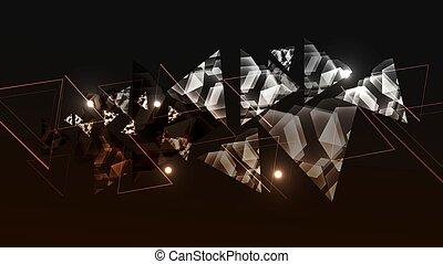 αφαιρώ , τεχνολογία , φόντο , με , triangle., αφαιρώ , φόντο , με , χρώμα , τριγωνικό σήμαντρο , mosaic.