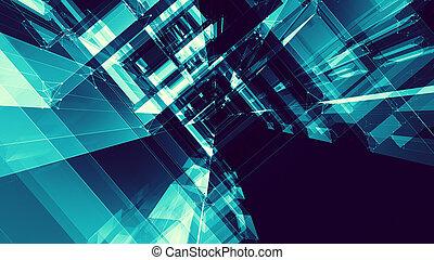 αφαιρώ , φόντο. , ακαταλαβίστικος , concept., διάστημα , τεχνολογία , μέλλον