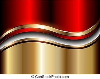 αφαιρώ , φόντο , χρυσός , κόκκινο