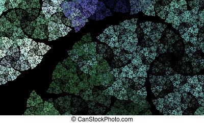 αφαιρώ , fractal , φόντο