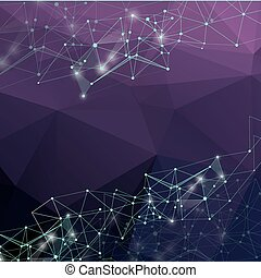 αφαιρώ , poly, polygonal, συνδετικός , χαμηλός , σχεδιάζω , backgroun.