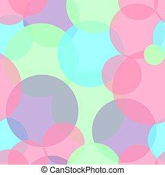 αφαιρώ , seamless, πρότυπο , με , γραφικός , circles., μικροβιοφορέας , illustration.