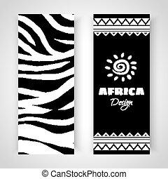 αφρικανός , ανήκων σε φυλή αριστοτεχνία , σημαίες