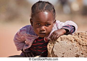 αφρικανός , παιδί