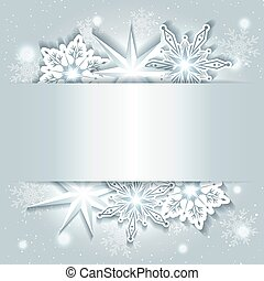 αφρώδης , xριστούγεννα , φόντο , νιφάδα χιονιού