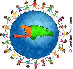 αϊτή , μικρόκοσμος