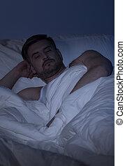 αϋπνία , άντραs