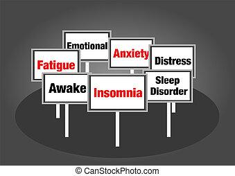 αϋπνία , αναχωρώ