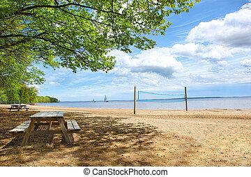 βάζω στο τραπέζι , πικνίκ , παραλία