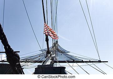 βάλανος , και , riggings, 2