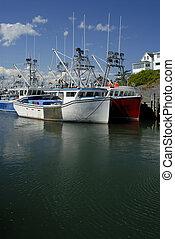βάρκα , ψάρεμα