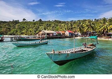 βάρκα , vietnam