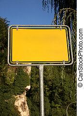 βάφω κίτρινο φόντο , δρόμος αναχωρώ , δέντρα