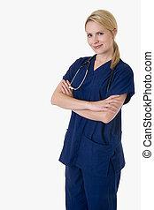 βέβαιος , νοσοκόμα