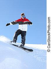 βέβαιος , snowboarder