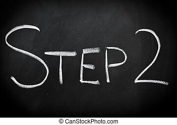 βήμα , δυο