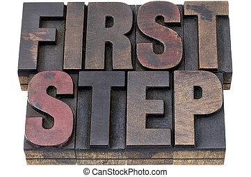 βήμα , ξύλο , δακτυλογραφώ , πρώτα