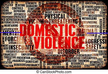 βία , οικιακός