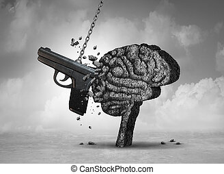 βία , υγεία , όπλο , διανοητικός