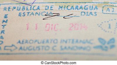 βίζα , νικαράγουα , μετανάστευση