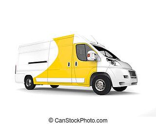 βαγόνι αποσκευών , delivey, μεγάλος , - , κίτρινο , εργαστήρι καλιτέχνη αγώνας σκοποβολής , άσπρο