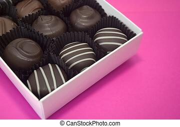 βαλεντίνη , σοκολάτα