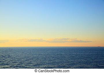 βαλτική , δύση ηλίου , θάλασσα