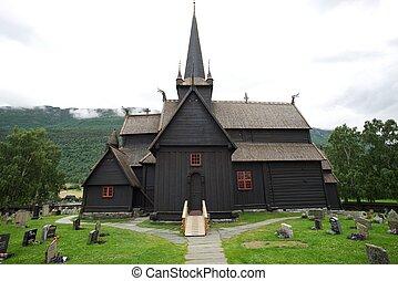 βαρελοσανίδα , εκκλησία , (stavkirke), μέσα , νορβηγία