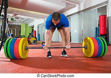 βαρύς , μπαρ , crossfit, βάροs , γυμναστήριο , καταλληλότητα...