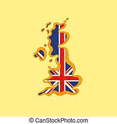 βασίλειο , χάρτηs , ενωμένος , έγχρωμος , - , βρετανικός αδυνατίζω