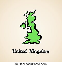 βασίλειο , χάρτηs , ενωμένος , - , περίγραμμα